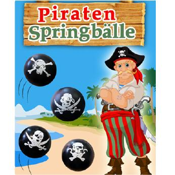 Piraten-Springbälle